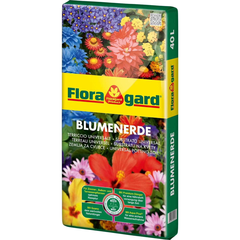 Floragard  Blumenerde 1 x 40 l