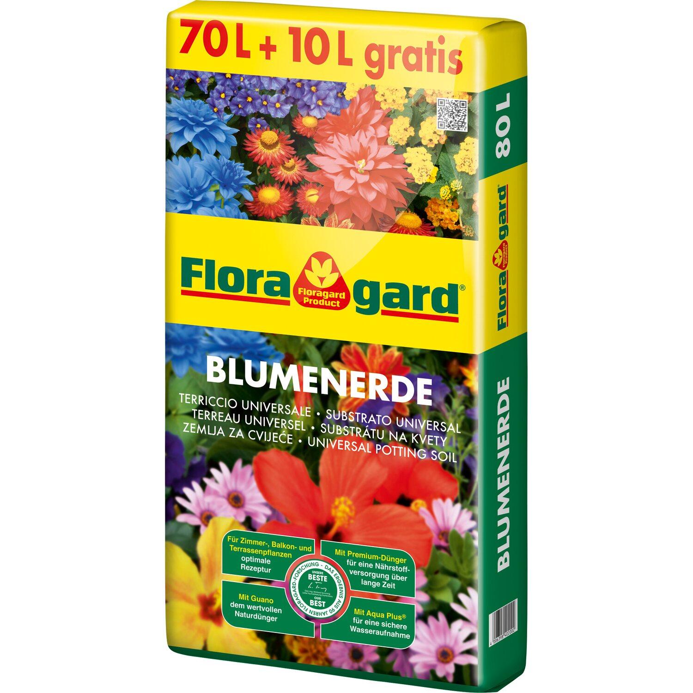 Floragard  Blumenerde 1 x 80 l