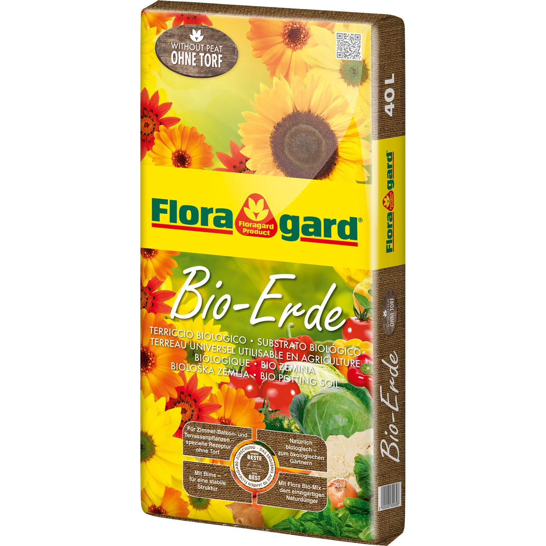 Floragard  Bio-Erde ohne Torf 1 x 40 l