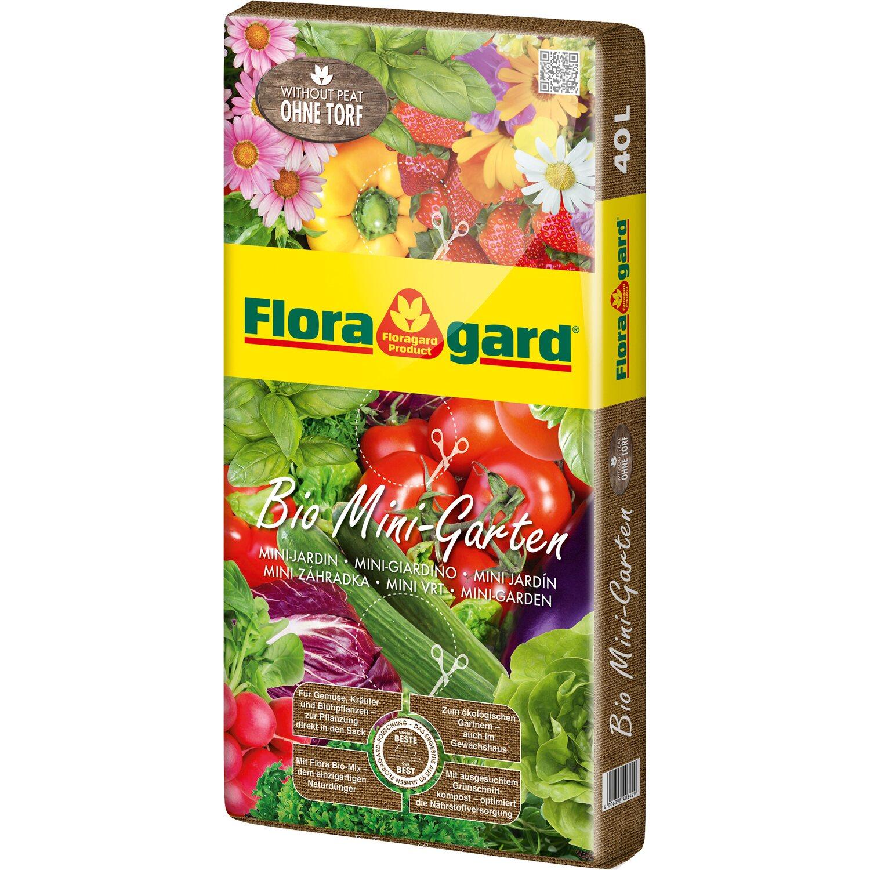 Floragard  Bio Mini-Garten ohne Torf 1 x 40 l