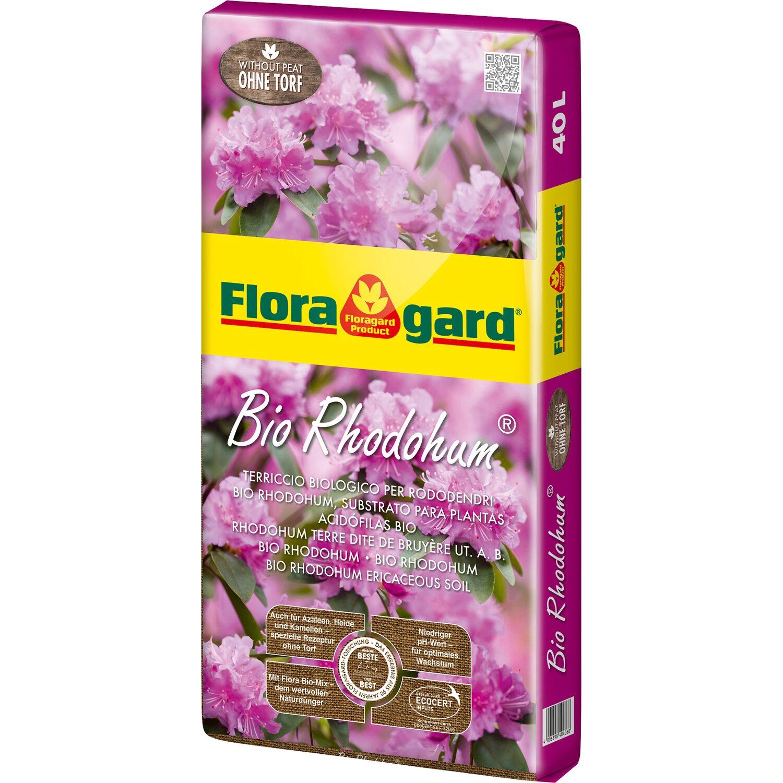 Floragard  Bio Rhodohum Rhododendronerde ohne Torf 1 x 40 l