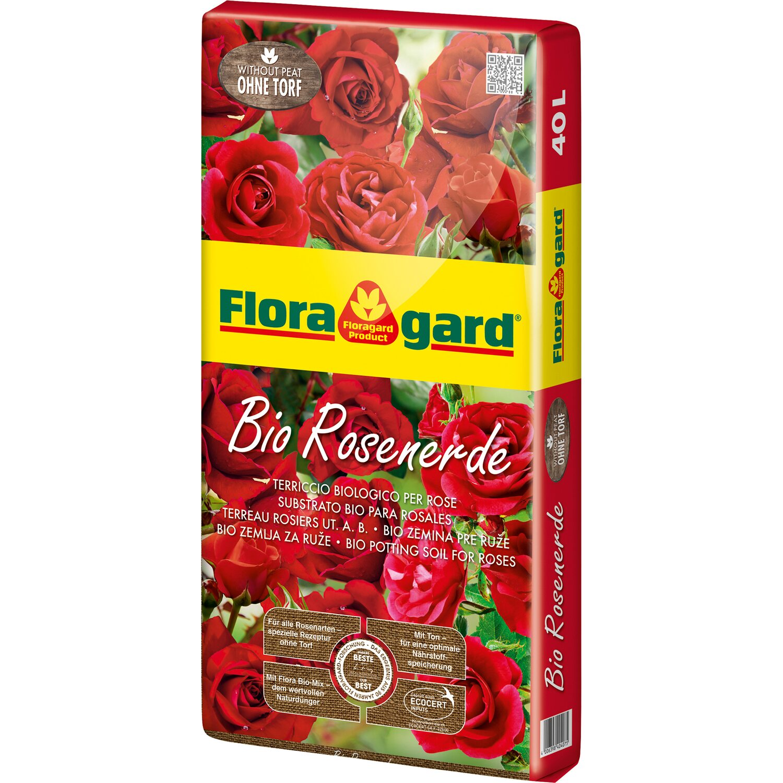 Floragard  Bio Rosenerde ohne Torf 1 x 40 l