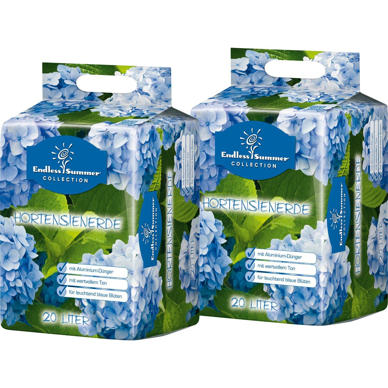 Endless Summer  Hortensienerde Blau 2 x 20 l