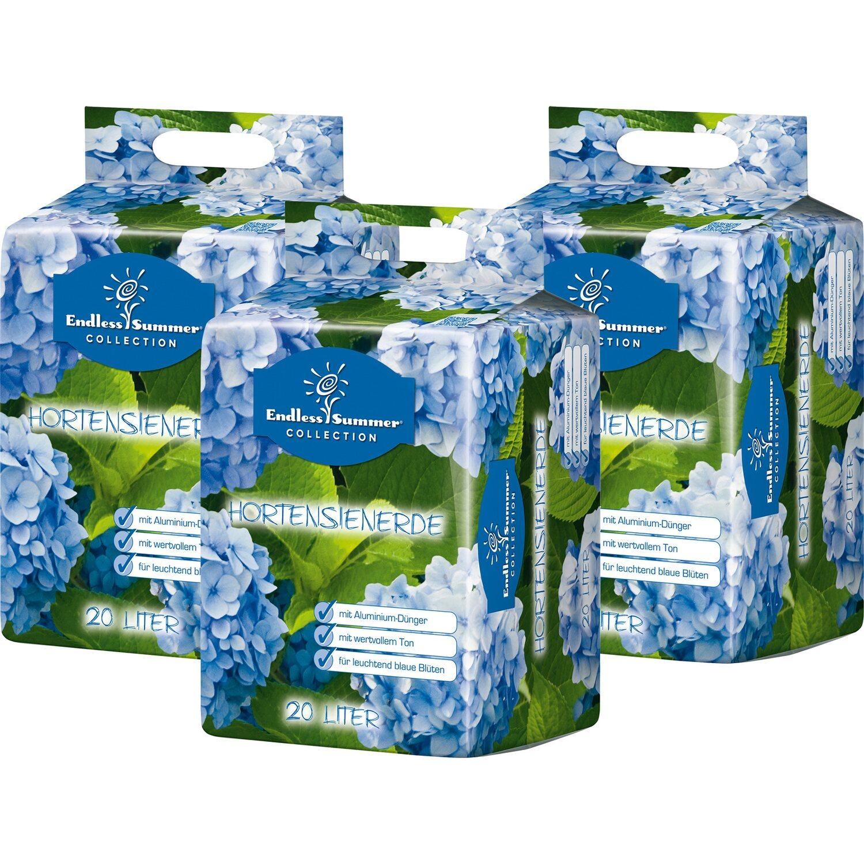 Endless Summer  Hortensienerde Blau 3 x 20 l