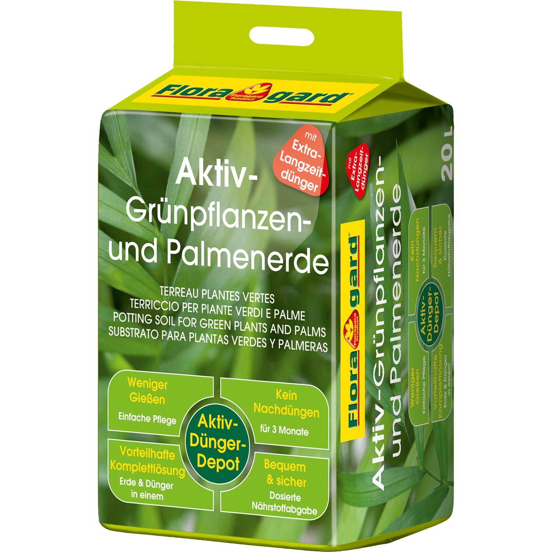 Floragard  Aktiv Grünpflanzen- und Palmenerde 1 x 20 l