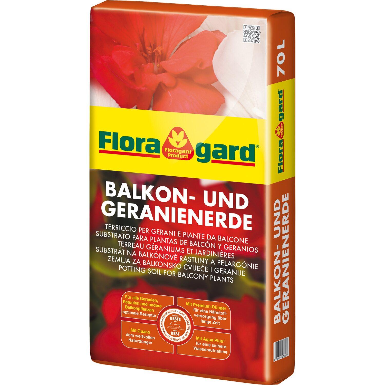 Floragard  Balkon- und Geranienerde 1 x 70 l