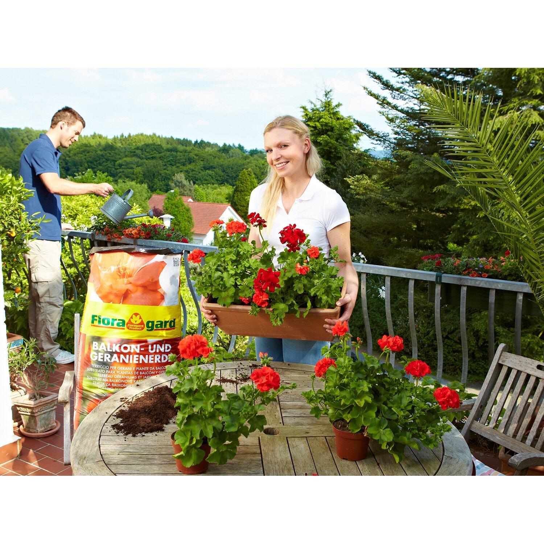 Floragard Balkon Und Geranienerde 1 X 70 L Kaufen Bei Obi