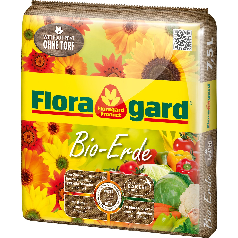 Floragard  Bio Erde ohne Torf 1 x 7,5 l