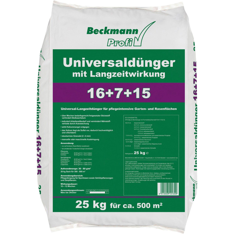 beckmann profi universald nger mit langzeitwirkung 25 kg. Black Bedroom Furniture Sets. Home Design Ideas