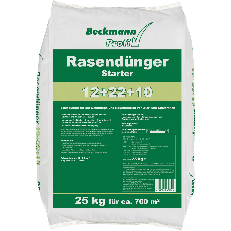 Beckmann  Profi Rasendünger Starter 25 kg