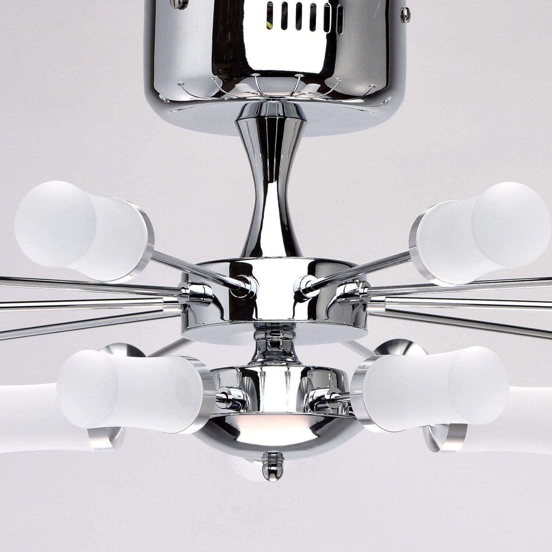 LED-Deckenleuchte Vega 15-flammig Chrom-Weiß EEK: A-A++ kaufen bei OBI