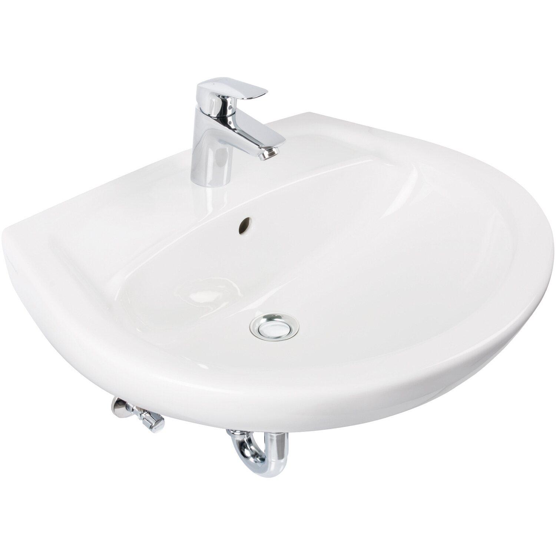 Villeroy & Boch Waschbecken-Set Omnia Pro 60 cm Weiß kaufen bei OBI