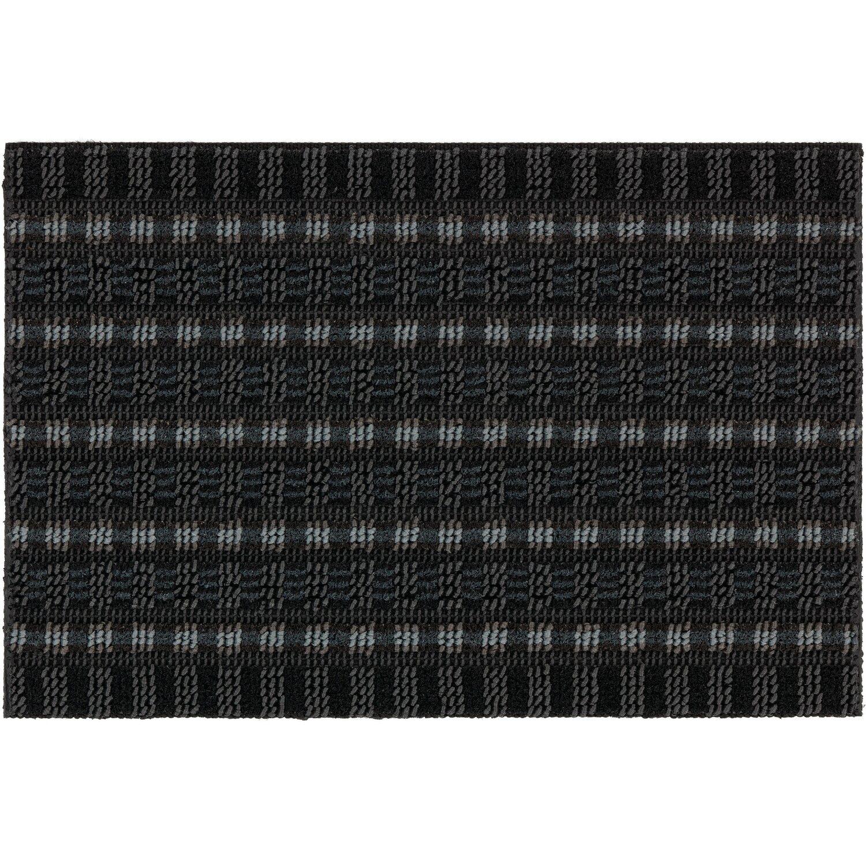 ASTRA -Kollektion Fußmatte Poly Brush Anthrazit 50 cm x 80 cm