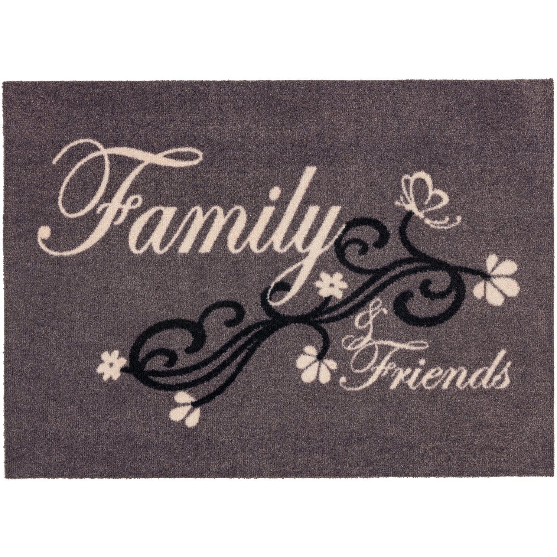 ASTRA -Kollektion Sauberlaufmatte Cardea Family Grau 50 cm x 70 cm
