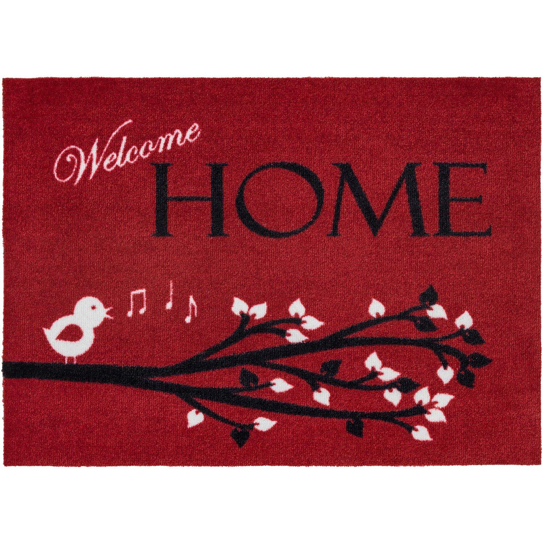 ASTRA -Kollektion Sauberlaufmatte Cardea Home Rot 50 cm x 70 cm