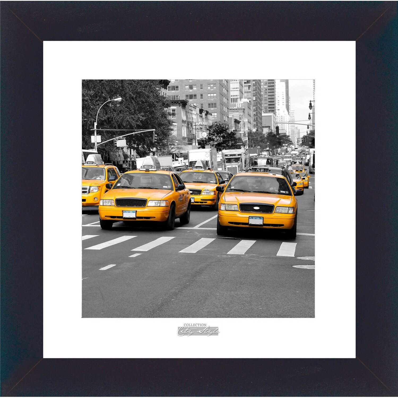 bild mit rahmen streets of new york i 38 cm x 38 cm kaufen bei obi. Black Bedroom Furniture Sets. Home Design Ideas