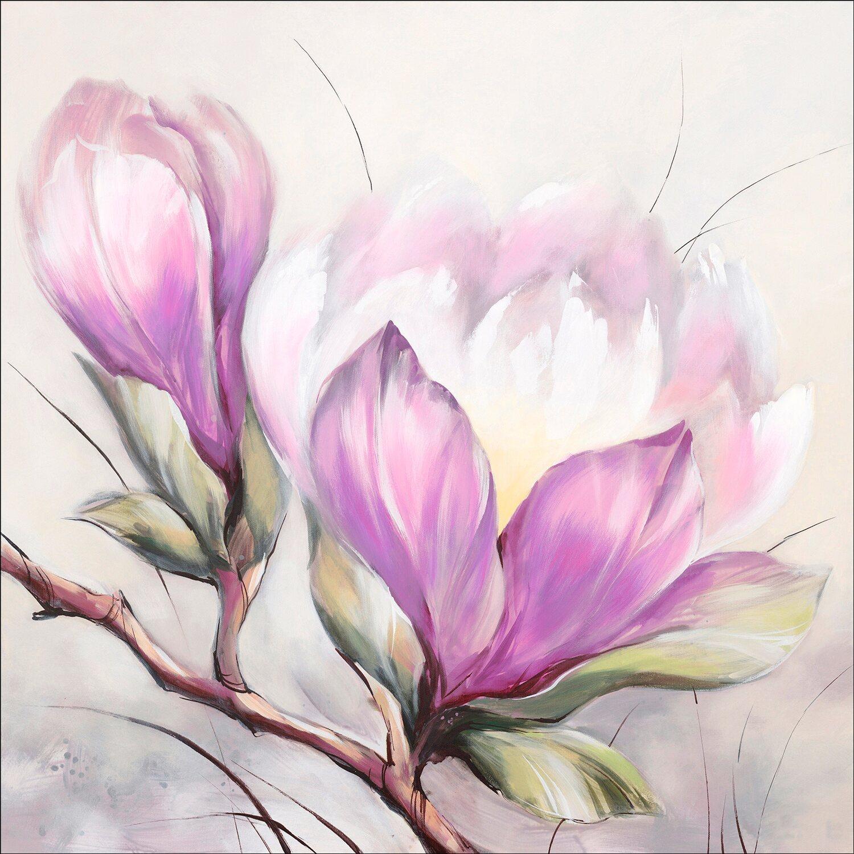 Leinwandbild Magnolie I 50 cm x 50 cm kaufen bei OBI