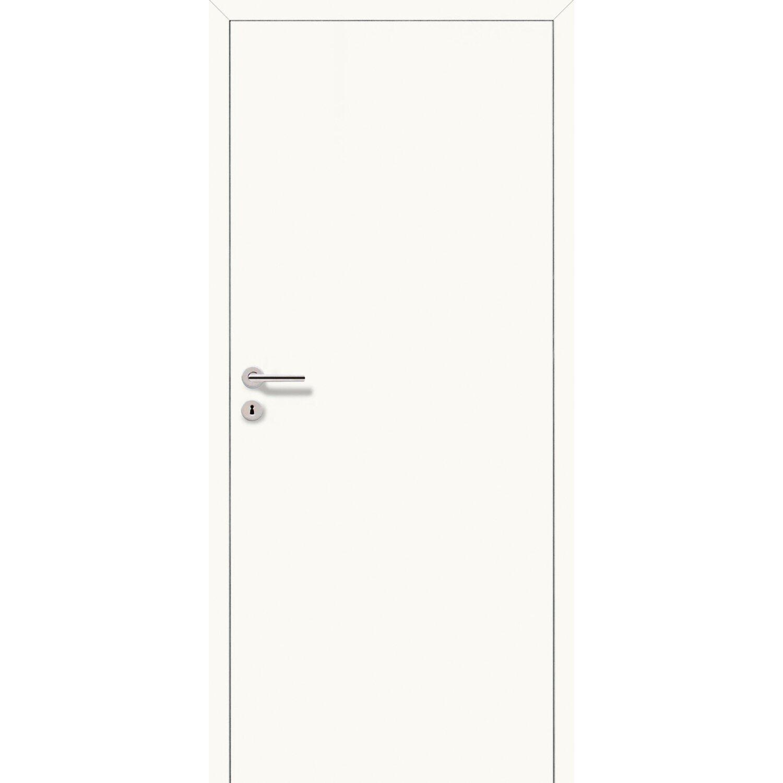 Sonstige Zimmertür CPL flächenbündig Arctic Weiß 70,8 cm x 197,2 cm DIN Rechts