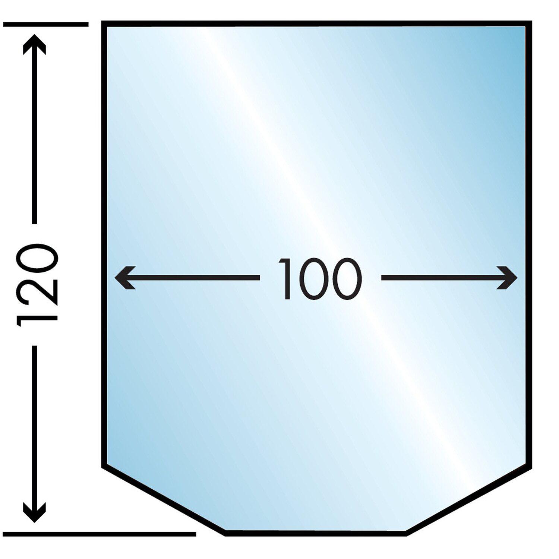 Caminos  Glasbodenplatte 100 cm x 120 cm