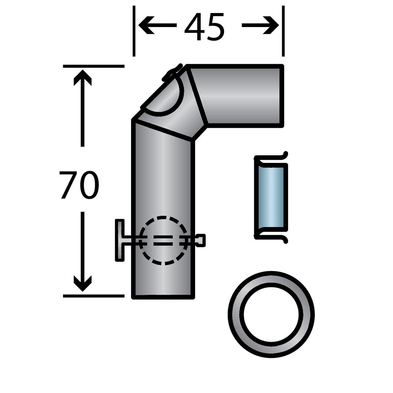 Caminos  Rauchrohr-Set Standard
