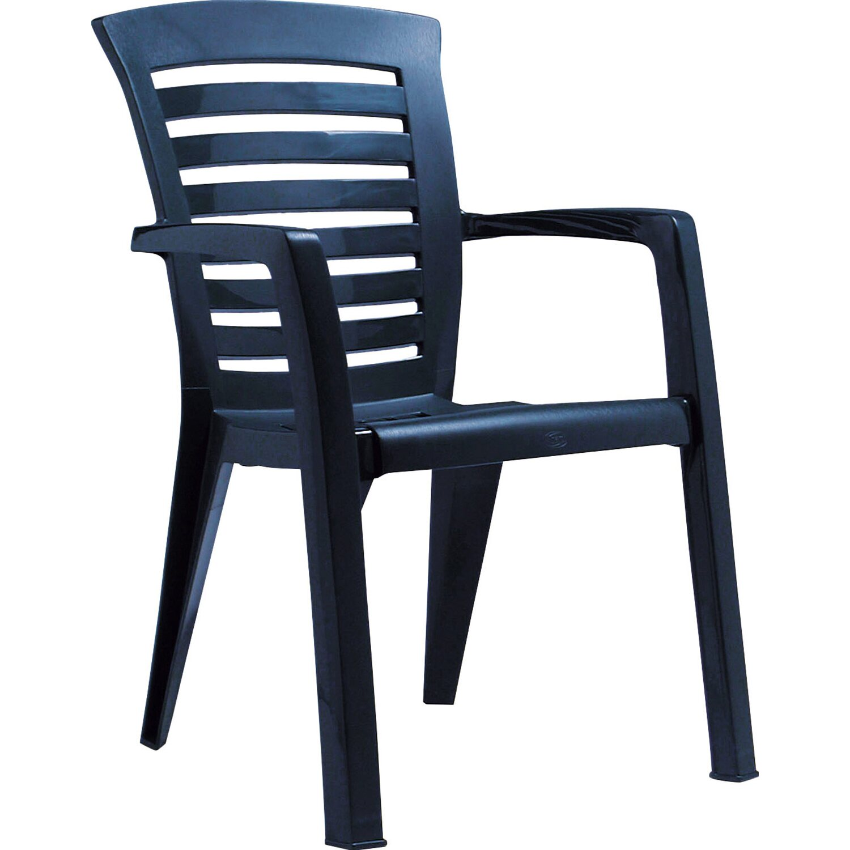 stapelsessel florida blau kaufen bei obi. Black Bedroom Furniture Sets. Home Design Ideas