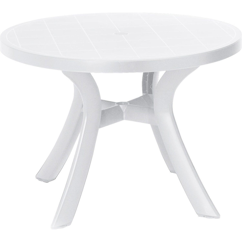 Tisch Kansas Rund 100 Cm O Weiss Kaufen Bei Obi