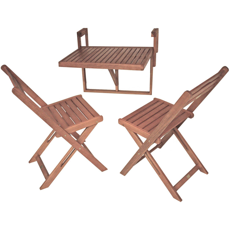 garden pleasure balkon h ngetisch set berkeley 3 teilig kaufen bei obi. Black Bedroom Furniture Sets. Home Design Ideas