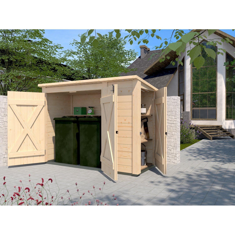 weka multibox mit regalsystem natur kaufen bei obi. Black Bedroom Furniture Sets. Home Design Ideas
