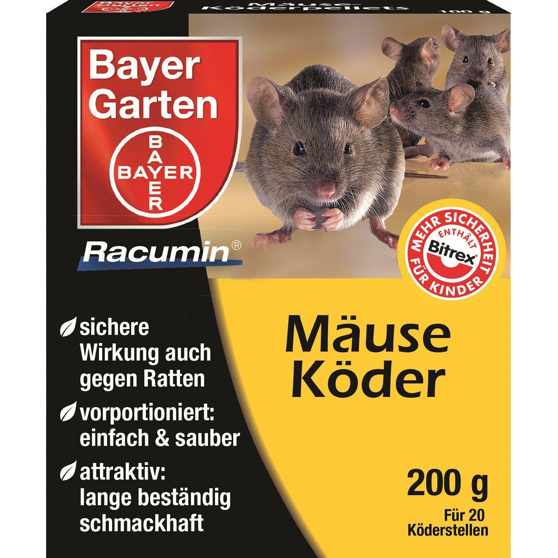 Bayer Garten Bayer Ratten-Mäusepellets Racumin 200 g