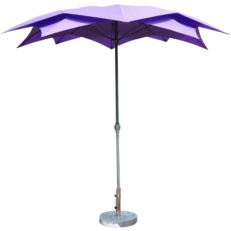 leco sonnenschirm bl te violett kaufen bei obi. Black Bedroom Furniture Sets. Home Design Ideas