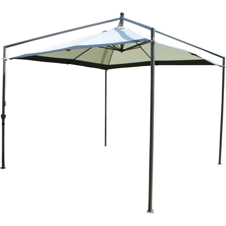 leco schirmpavillon lichtgrau kaufen bei obi. Black Bedroom Furniture Sets. Home Design Ideas