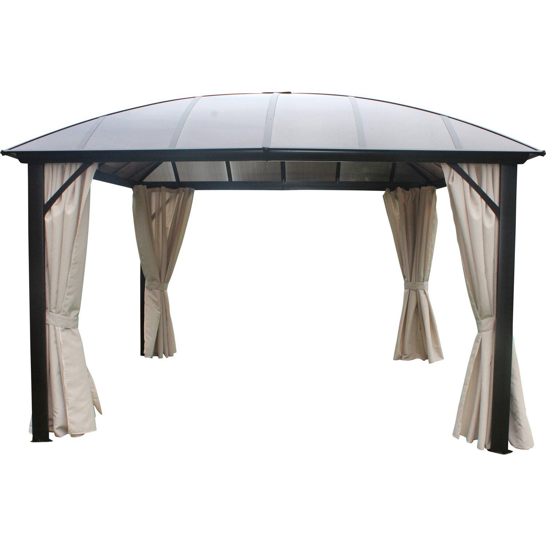 leco kuppeldachpavillon anthrazit kaufen bei obi. Black Bedroom Furniture Sets. Home Design Ideas