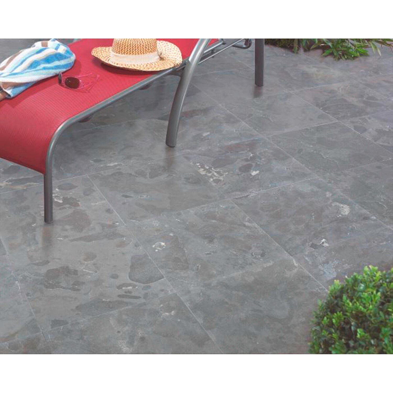 Terrassenplatte Naturstein Graphit 40 Cm X 40 Cm X 3 Cm Kaufen Bei Obi