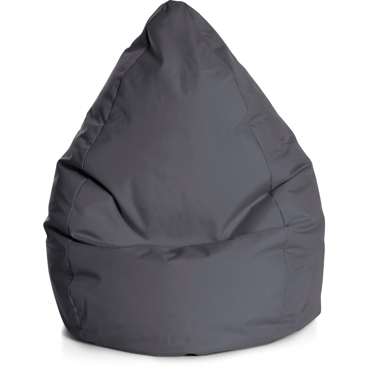 Sitting Point Sitzsack Beanbag Brava XXL 300 l Anthrazit