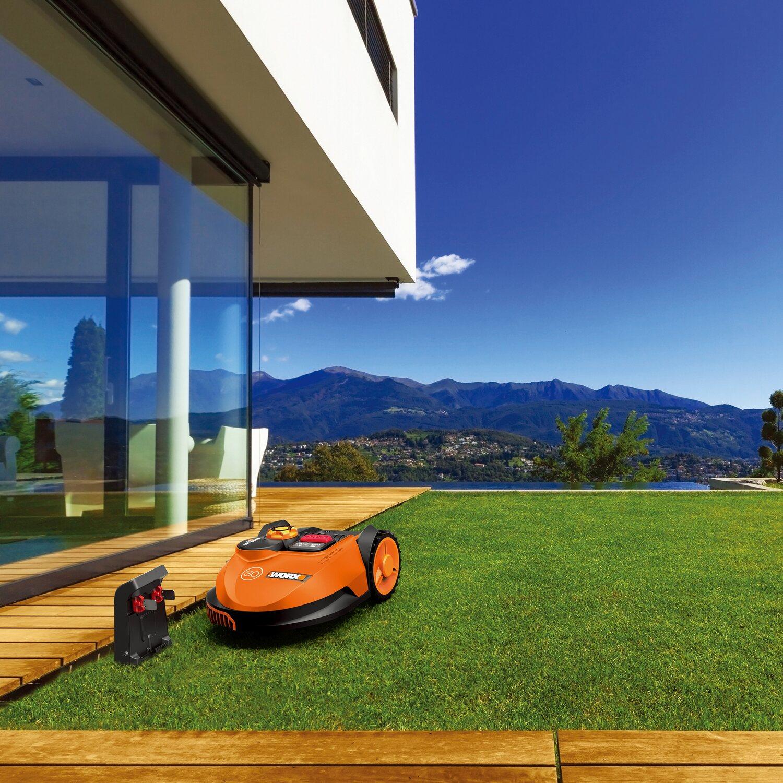 worx landroid m hroboter s450i kaufen bei obi. Black Bedroom Furniture Sets. Home Design Ideas