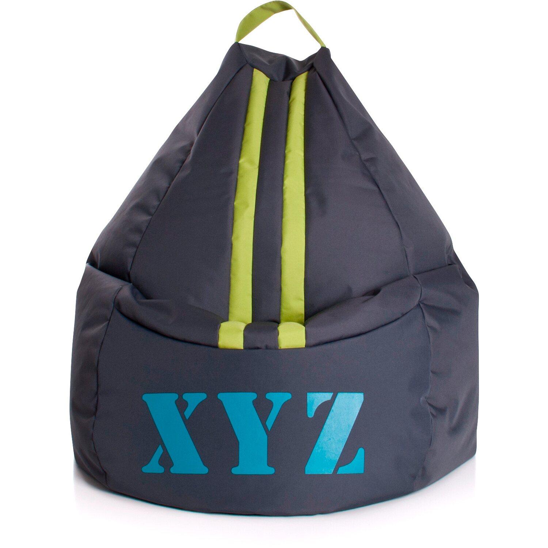 Sitting Point Sitzsack Beanbag XYZ 220 l Anthrazit