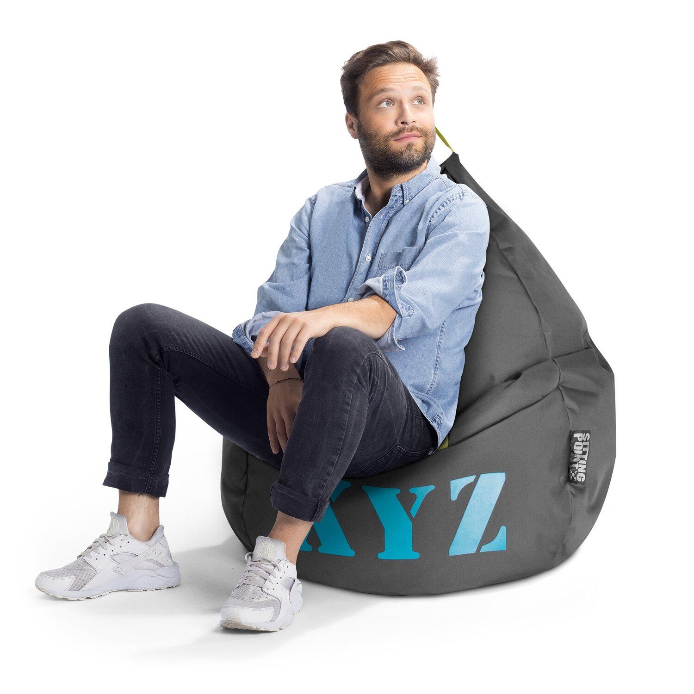Sitting Point Sitzsack Beanbag Xyz 220 L Anthrazit Kaufen Bei Obi