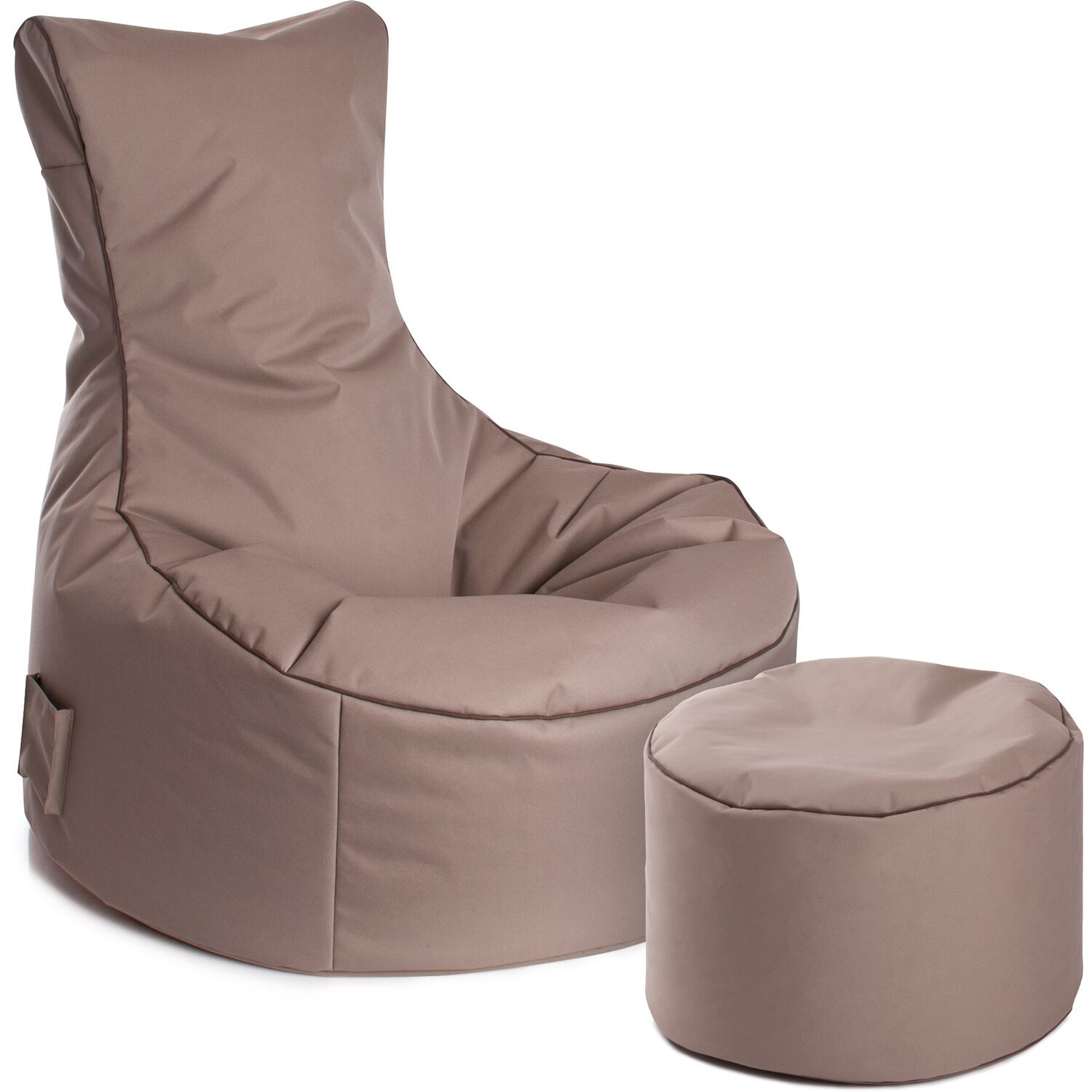 sitting point sitzsack set swing scuba und dotcom khaki kaufen bei obi. Black Bedroom Furniture Sets. Home Design Ideas