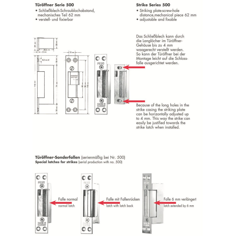 Elektrischer Türöffner mit Flachblech kaufen bei OBI