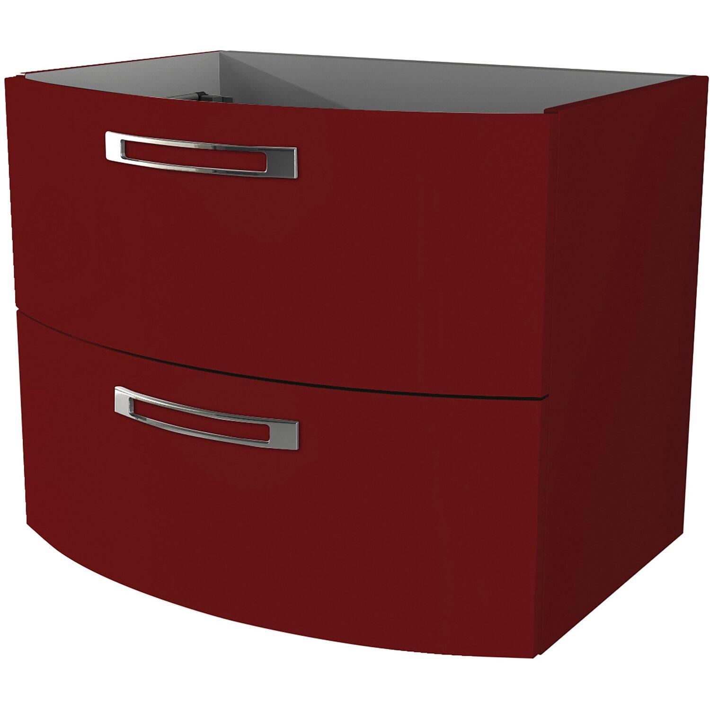 Badezimmerschrank Rot: Waschbeckenunterschrank 70 Cm Best Rot Kaufen Bei OBI