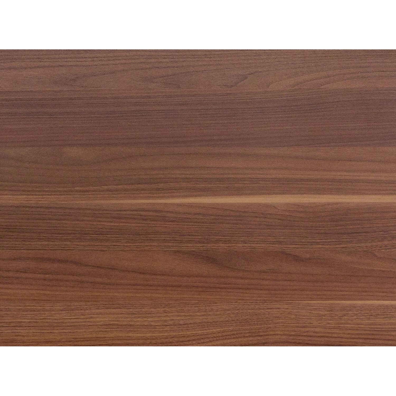 Flex Well Flex-Well Arbeitsplatte 220 x 60 x 3,8 cm Nussbaum