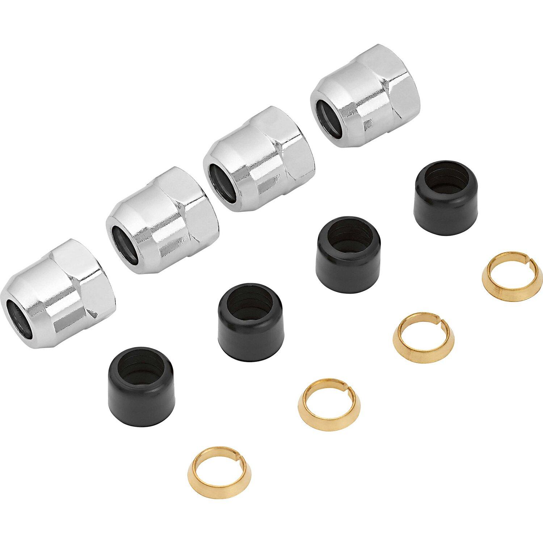 OBI Quetschüberwurfmutter Ø 10 mm x 14,9 mm (Rp 3/8) 4 Stück