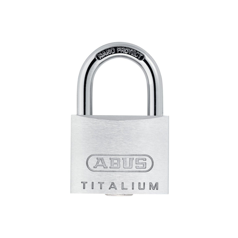Abus  Titalium-Vorhangschloss 64TI/25 B/SB