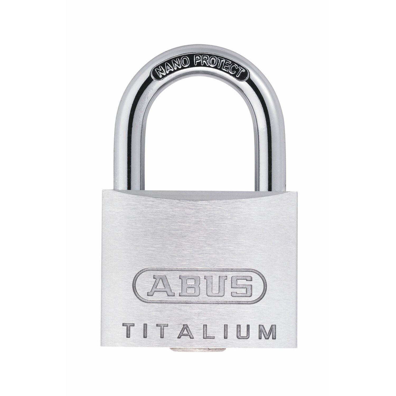 Abus  Titalium-Vorhangschloss 64TI/20 B/SB