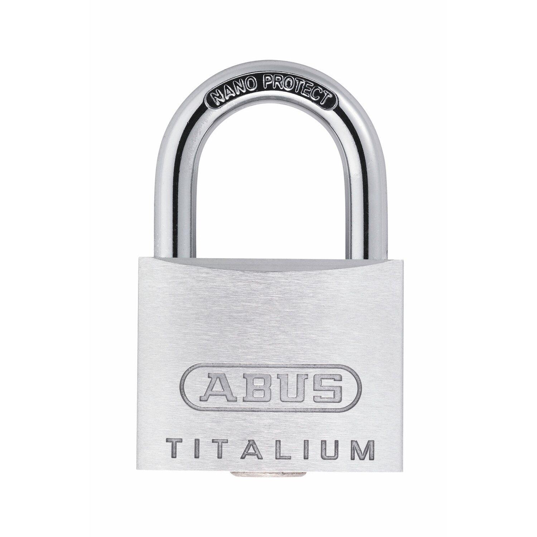 Abus  Titalium-Vorhangschloss 64TI/30 B/SB