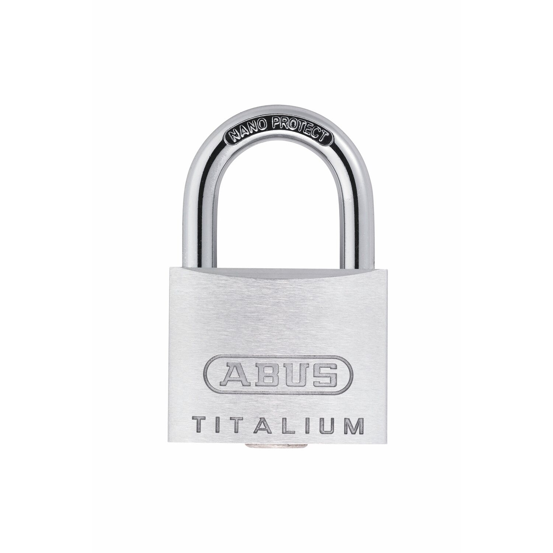 Abus  Titalium-Vorhangschloss 64TI/40 B/SB