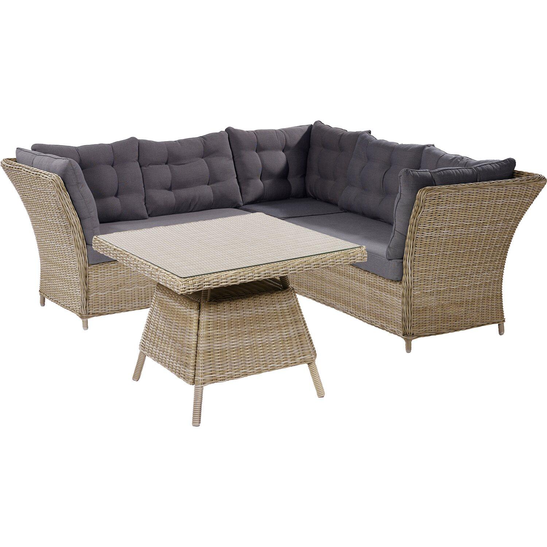 ersatzkissen set f r gartenm belgruppe madison kaufen bei obi. Black Bedroom Furniture Sets. Home Design Ideas