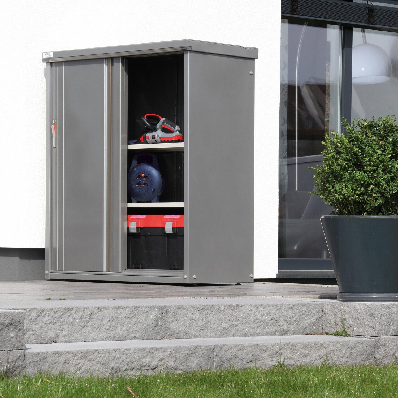 wolff finnhaus metall ger teschrank 157 rauchgrau 149 cm x. Black Bedroom Furniture Sets. Home Design Ideas
