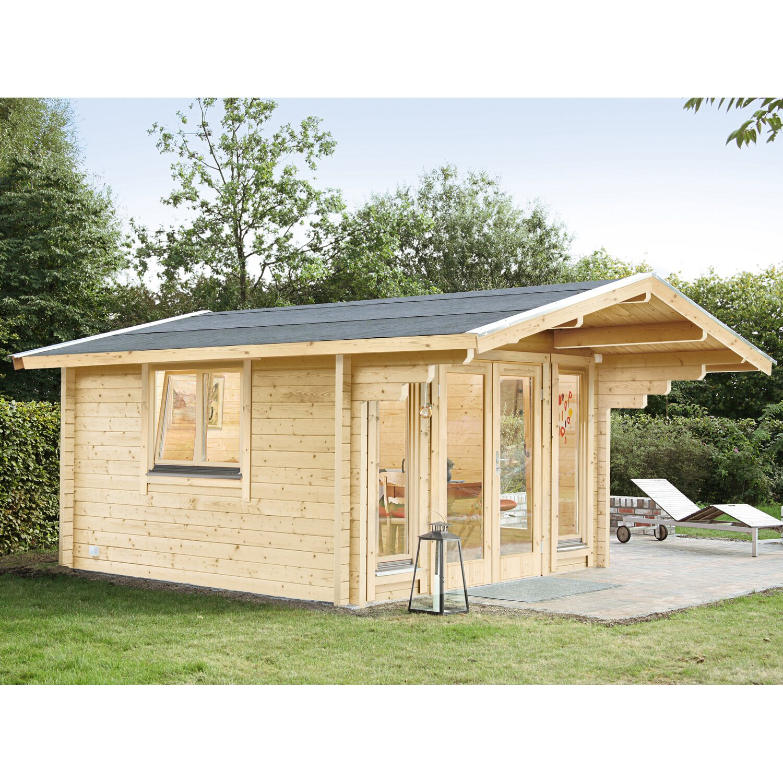 wolff finnhaus holz gartenhaus hammerfest 70 c 390 cm x 390 cm kaufen bei obi. Black Bedroom Furniture Sets. Home Design Ideas