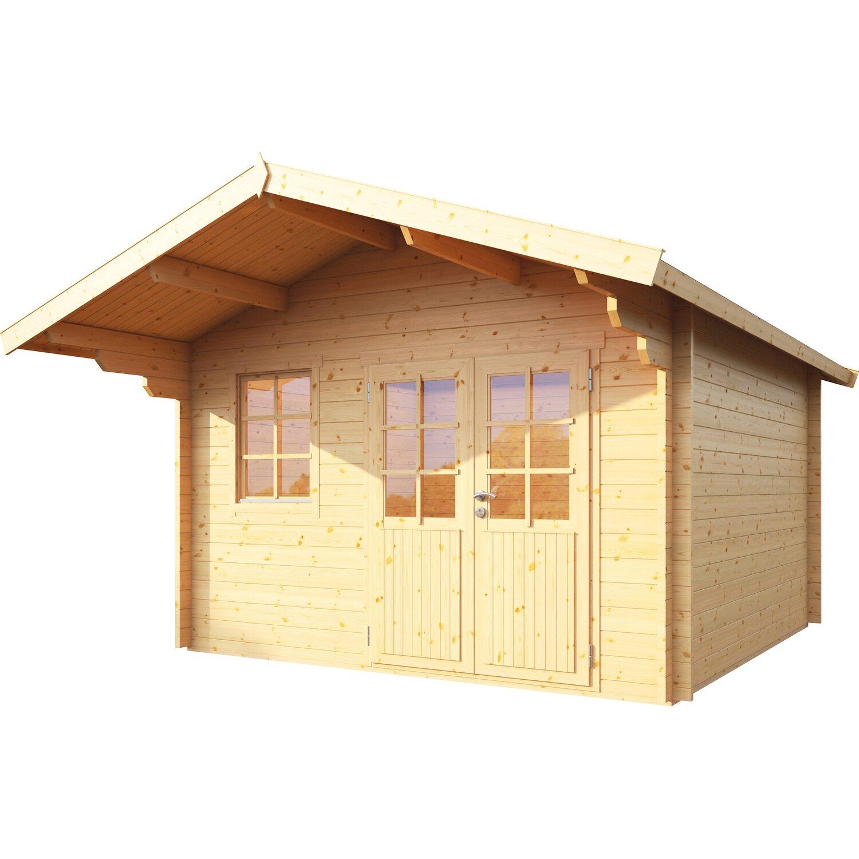 Wolff Finnhaus Holz-Gartenhaus Lisa 44-B 360 cm x 360 cm
